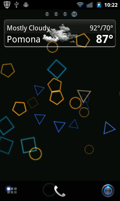 Geo-Phaze Live Wallpaper Basic- screenshot