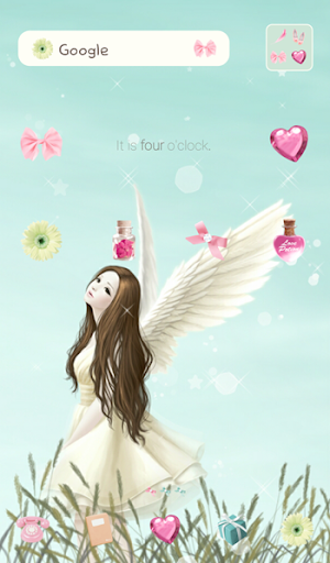 lovely girl dodol theme