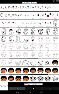 Emoticons para bate-papos: miniatura da captura de tela