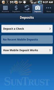 SunTrust Mobile App - screenshot thumbnail