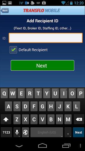 TRANSFLO Mobile screenshot
