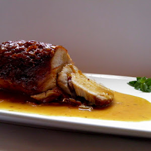 Pork Loin with Caramelized Orange Sauce