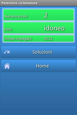 Patentino ciclomotore - screenshot