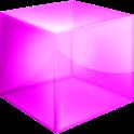 Pink Cube Theme GO Launcher EX logo