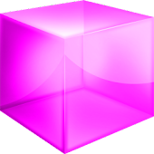 Pink Cube Theme GO Launcher EX