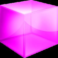 Pink Cube Theme GO Launcher EX 1.0