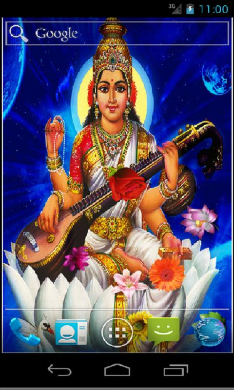 Goddess Saraswati HD LWP - screenshot