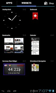 Currency Rate Widget- screenshot thumbnail