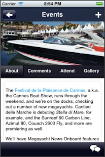Megayacht News- screenshot thumbnail
