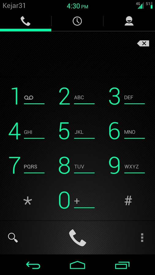 Gummy CM9 Theme RefreshingMint - screenshot