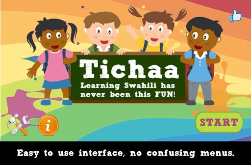 Tichaa - Kids Swahili Puzzle