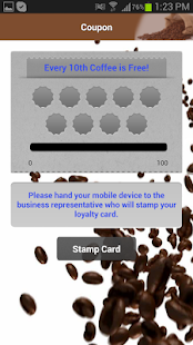 Gadget Coach Demo Coffee App - screenshot thumbnail