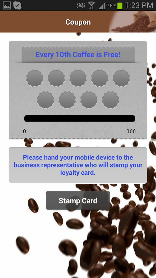 Gadget Coach Demo Coffee App - screenshot