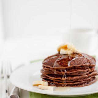 Banana Chocolate Pancakes