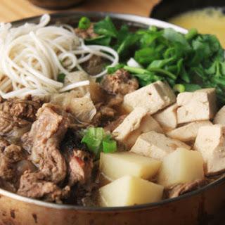 Beef Trim Sukiyaki