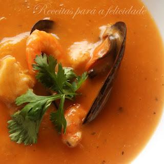 Seafood Soup.
