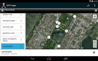 Screenshot of GPS Forger: Fake GPS Location