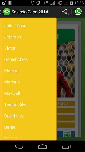Seleção Copa 2014