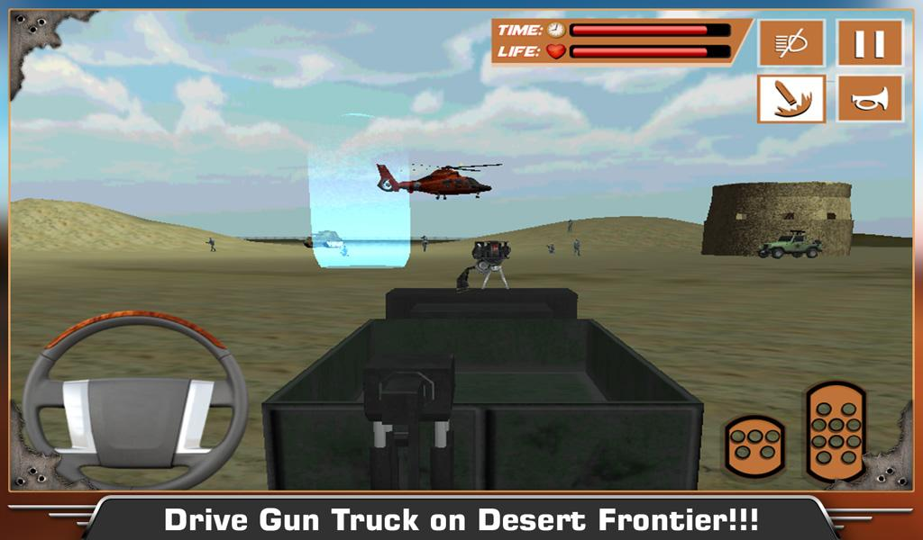 Desert-Military-Base-War-Truck 22
