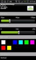 Screenshot of Battery Info Always