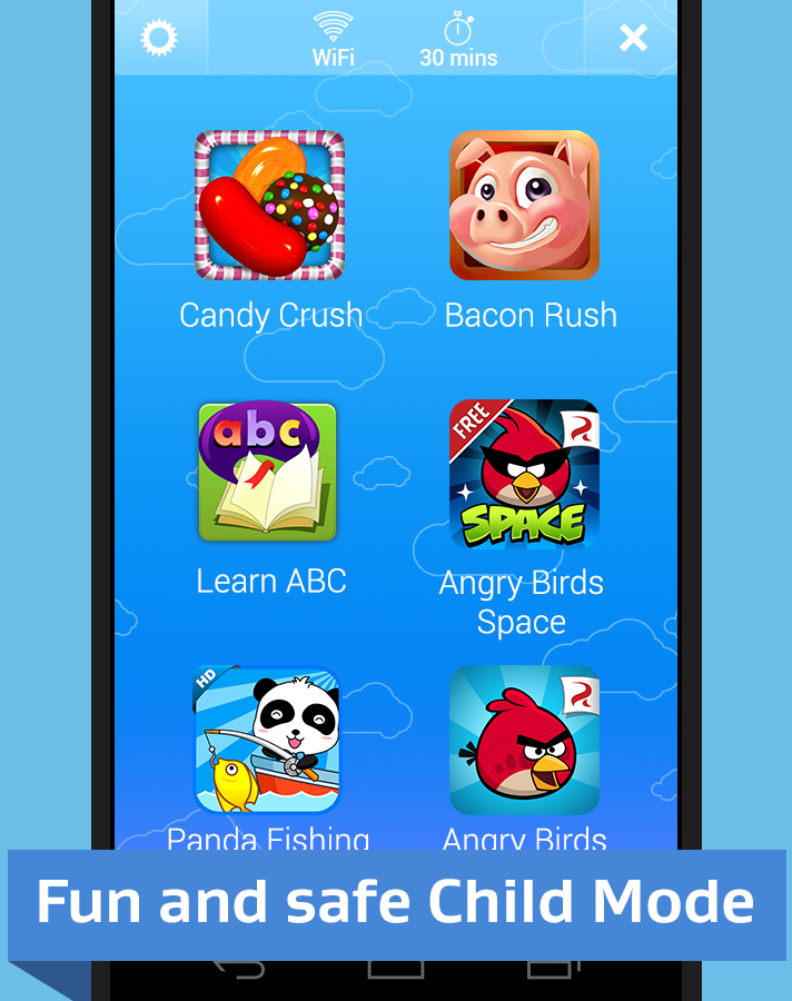 Kids Mode & Child Lock- screenshot