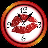 Sexy Kiss Clock