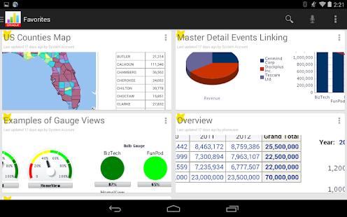 Oracle BI Mobile - screenshot thumbnail