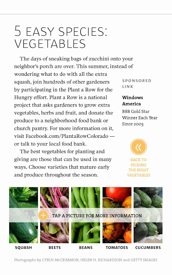 Denver Post Garden Colorado - screenshot