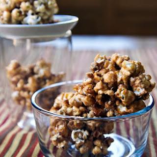 Maple Popcorn Balls.
