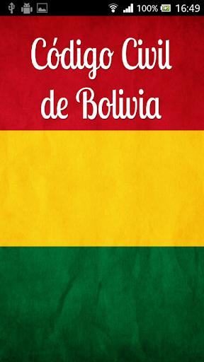 Código Civil Bolivia