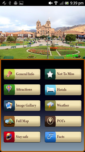 Cusco Offline Map Travel Guide