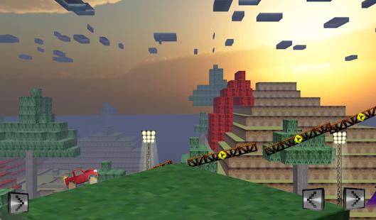 Monstertruck Craft block Race 賽車遊戲 App-愛順發玩APP