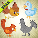 Birds Puzzles for Toddlers ! icon