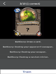 Trainer for Hearthstone