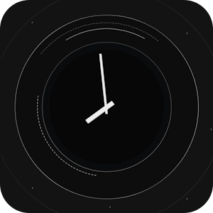 Black Orbit Clock