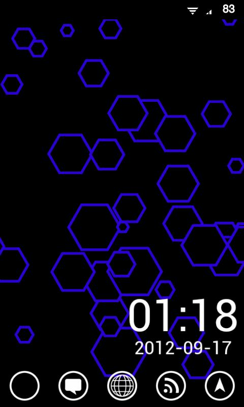 PartGen Live Wallpaper - screenshot
