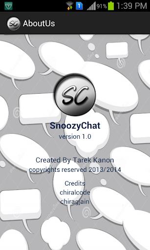 SnoozyChat
