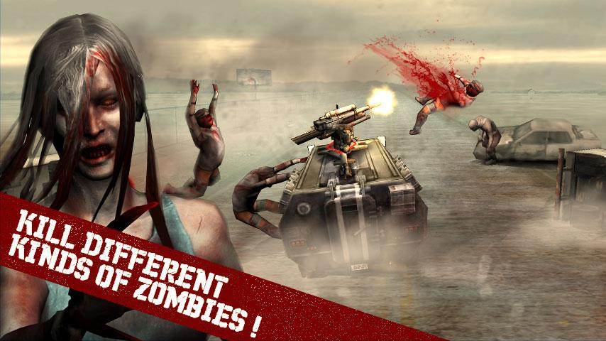 Zombie Road - screenshot