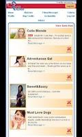 Screenshot of CupidRadar Free Dating App
