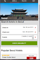 Screenshot of Hotels South Korea