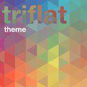 Xperia™ theme - Triflat