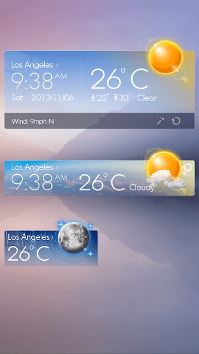【免費個人化App】Glass View Theme GOWeather-APP點子