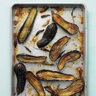 Honey-Roasted Eggplant with Chiles.