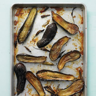 Honey-Roasted Eggplant with Chiles.