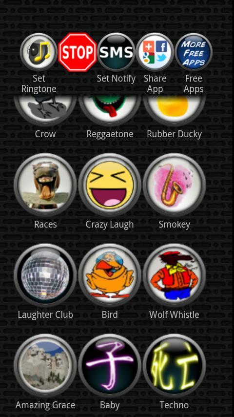 LOUD Ringtones - screenshot