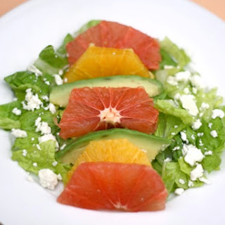 Grapefruit, Orange, and Avocado Salad.