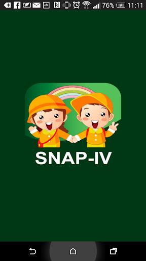 SNAP-IV 注意力不足過動量表