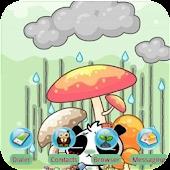 NONOPANDA Raining SQTheme ADW