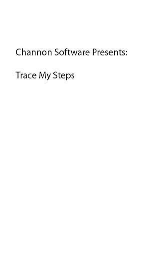 Trace My Steps