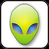 Alien Head green doo-dad